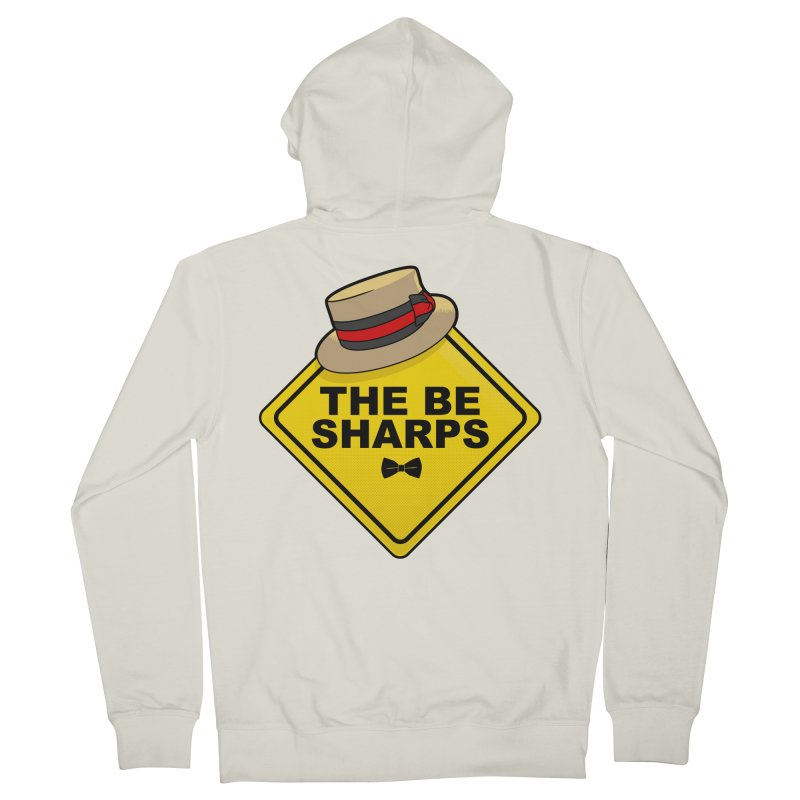 Be Sharps On Board Women's French Terry Zip-Up Hoody by Made With Awesome