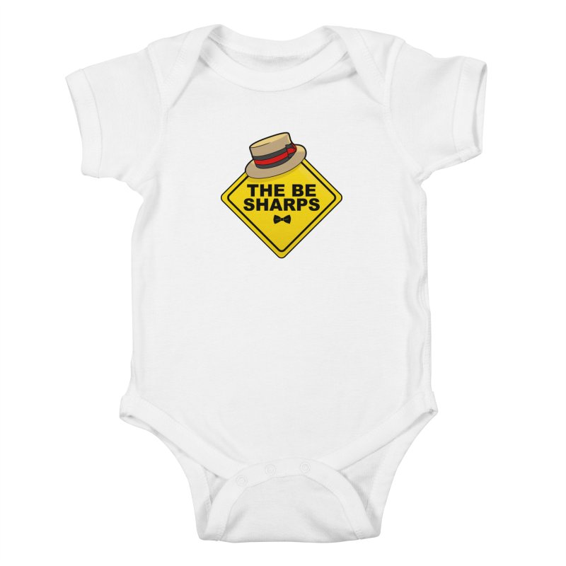 Be Sharps On Board Kids Baby Bodysuit by Made With Awesome