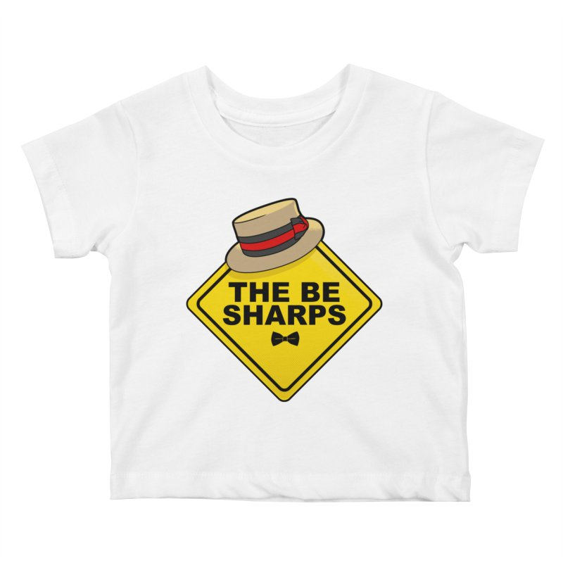 Be Sharps On Board Kids Baby T-Shirt by Made With Awesome