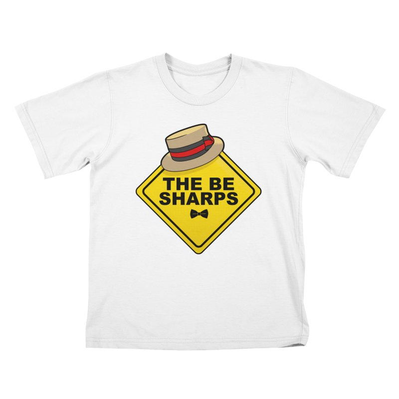 Be Sharps On Board Kids T-Shirt by Made With Awesome