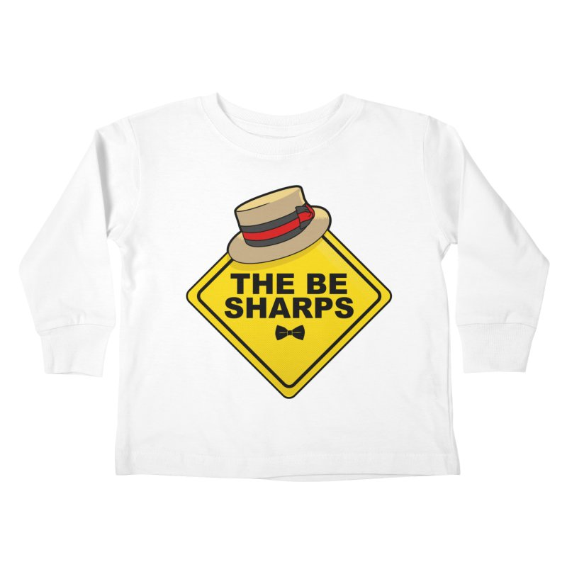 Be Sharps On Board Kids Toddler Longsleeve T-Shirt by Made With Awesome