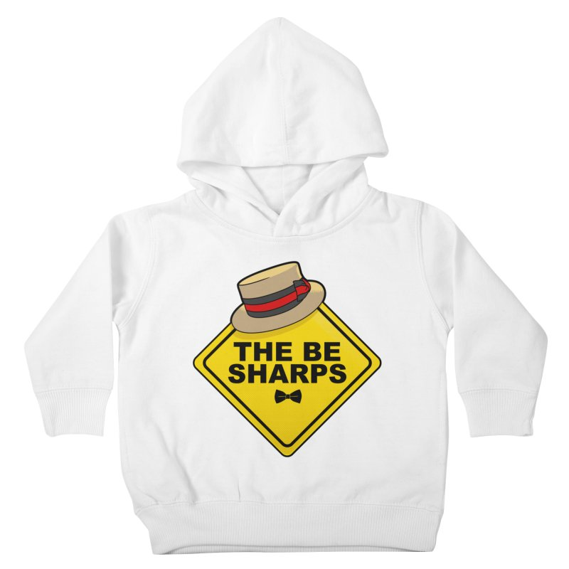 Be Sharps On Board Kids Toddler Pullover Hoody by Made With Awesome