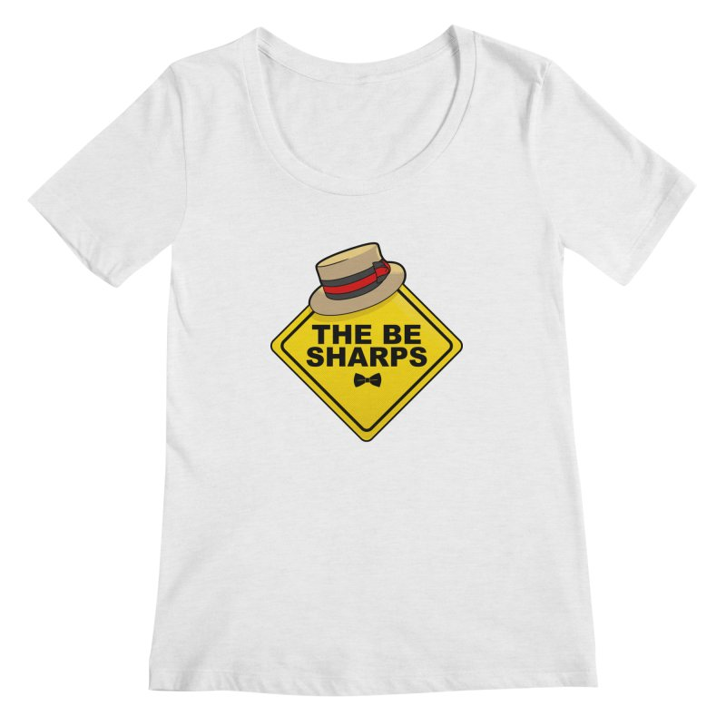 Be Sharps On Board Women's Regular Scoop Neck by Made With Awesome