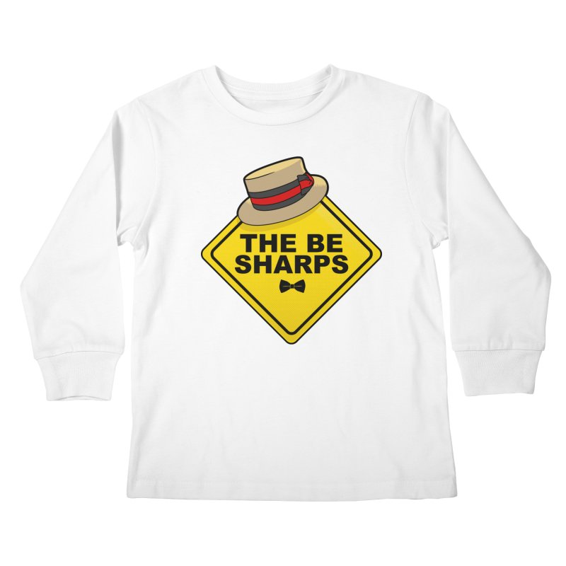Be Sharps On Board Kids Longsleeve T-Shirt by Made With Awesome