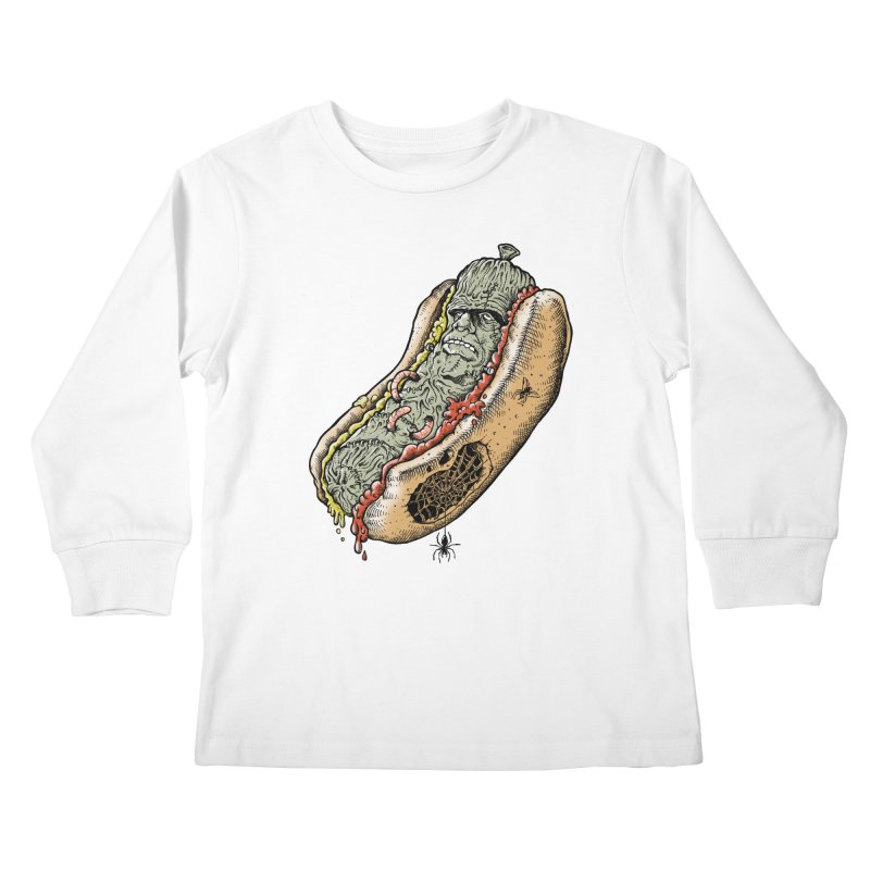 FRANKenstein Kids Longsleeve T-Shirt by Made With Awesome