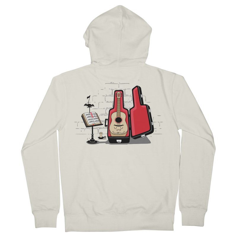 Dracula Unplugged Women's French Terry Zip-Up Hoody by Made With Awesome