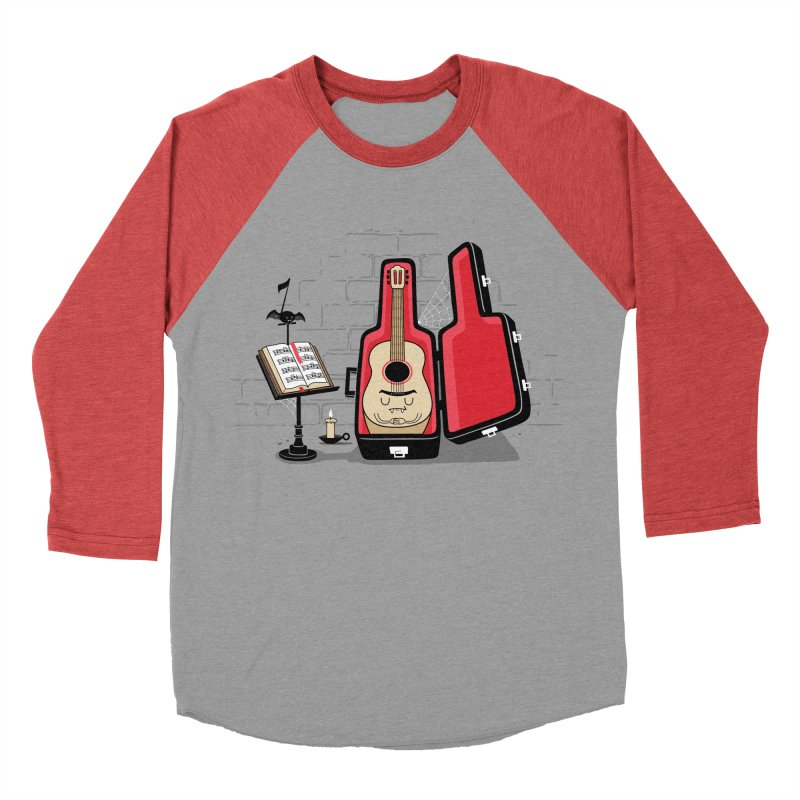 Dracula Unplugged Women's Baseball Triblend Longsleeve T-Shirt by Made With Awesome