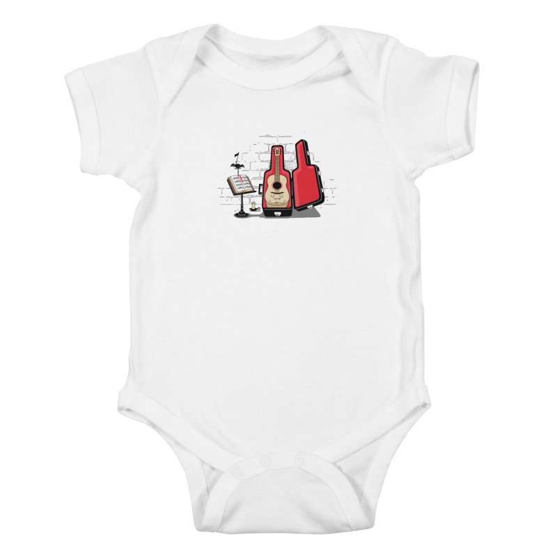 Dracula Unplugged Kids Baby Bodysuit by Made With Awesome