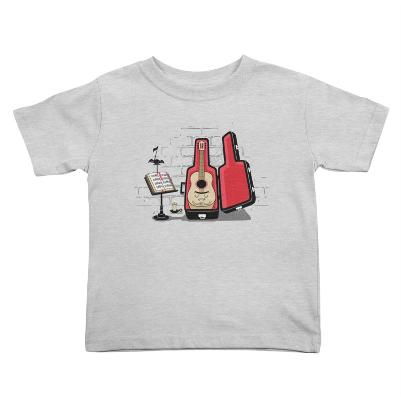 Dracula Unplugged Kids Toddler T-Shirt by Made With Awesome