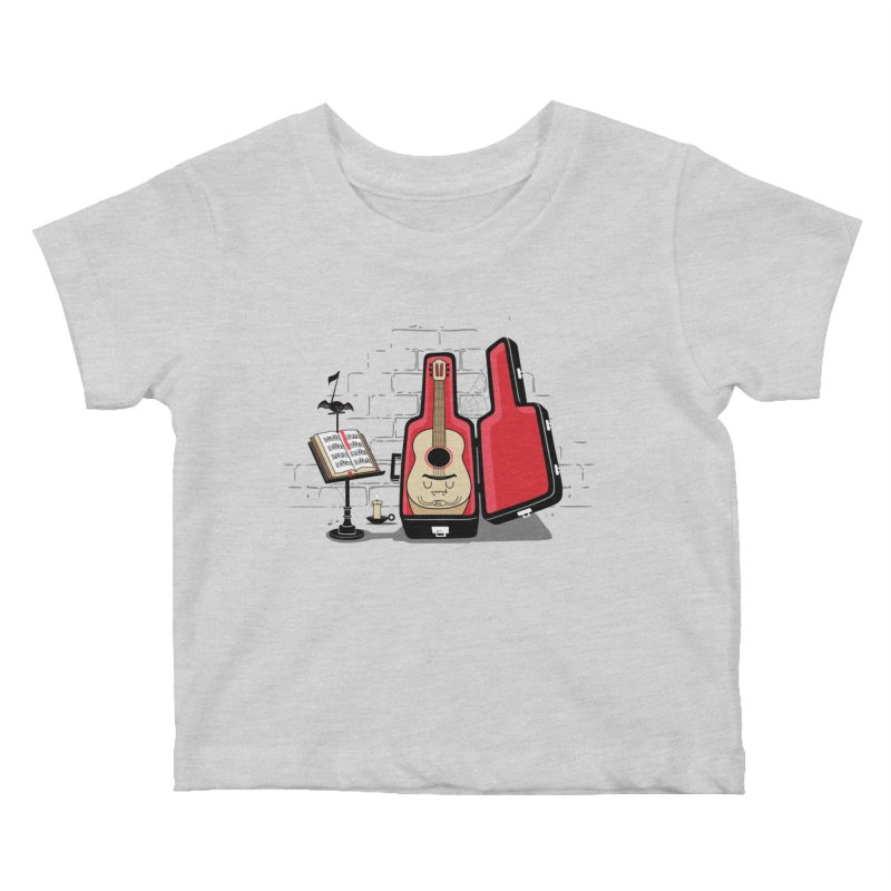 Dracula Unplugged Kids Baby T-Shirt by Made With Awesome