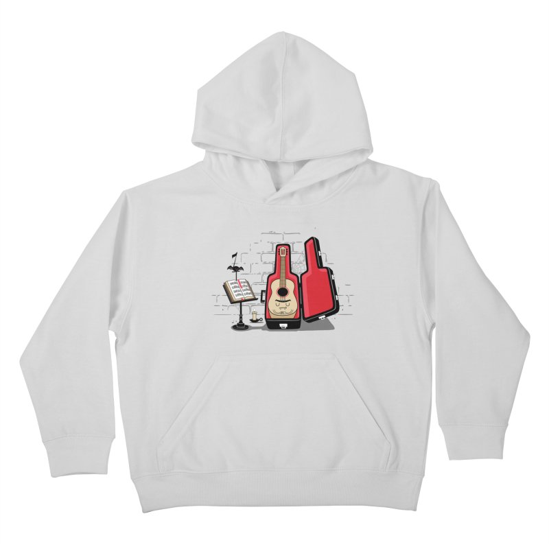 Dracula Unplugged Kids Pullover Hoody by Made With Awesome