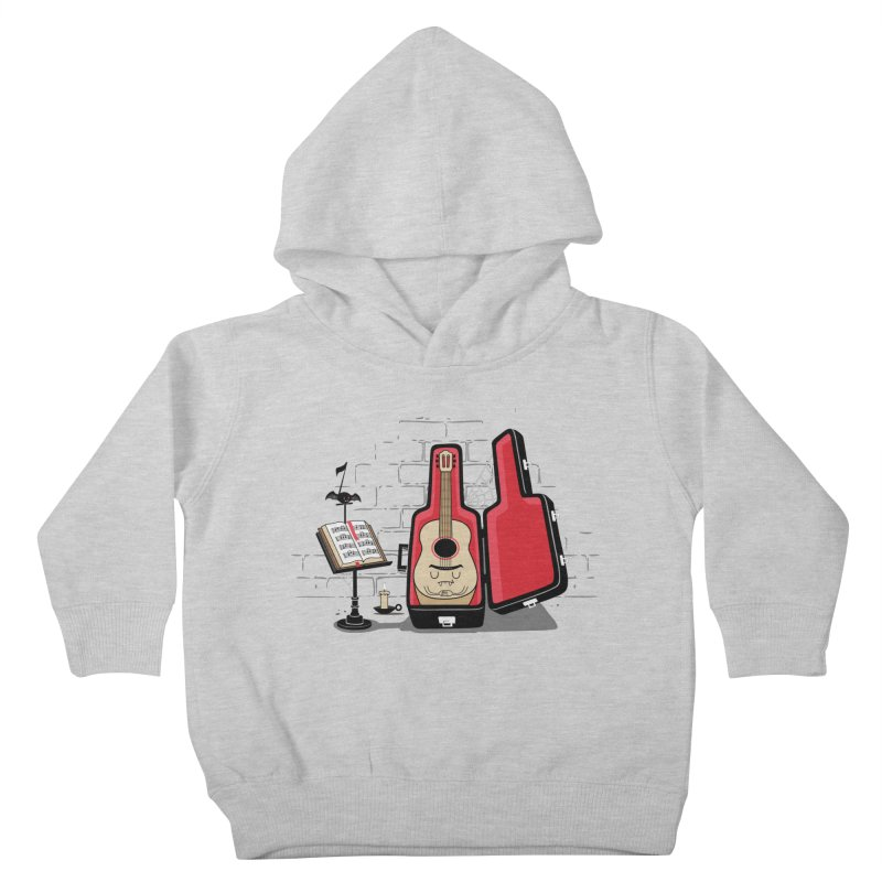 Dracula Unplugged Kids Toddler Pullover Hoody by Made With Awesome