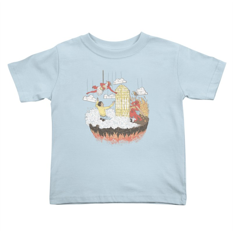 Devil's in the Details Kids Toddler T-Shirt by Made With Awesome