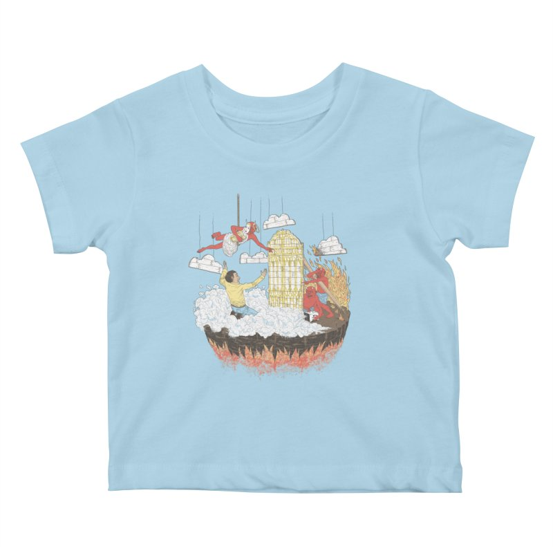 Devil's in the Details Kids Baby T-Shirt by Made With Awesome