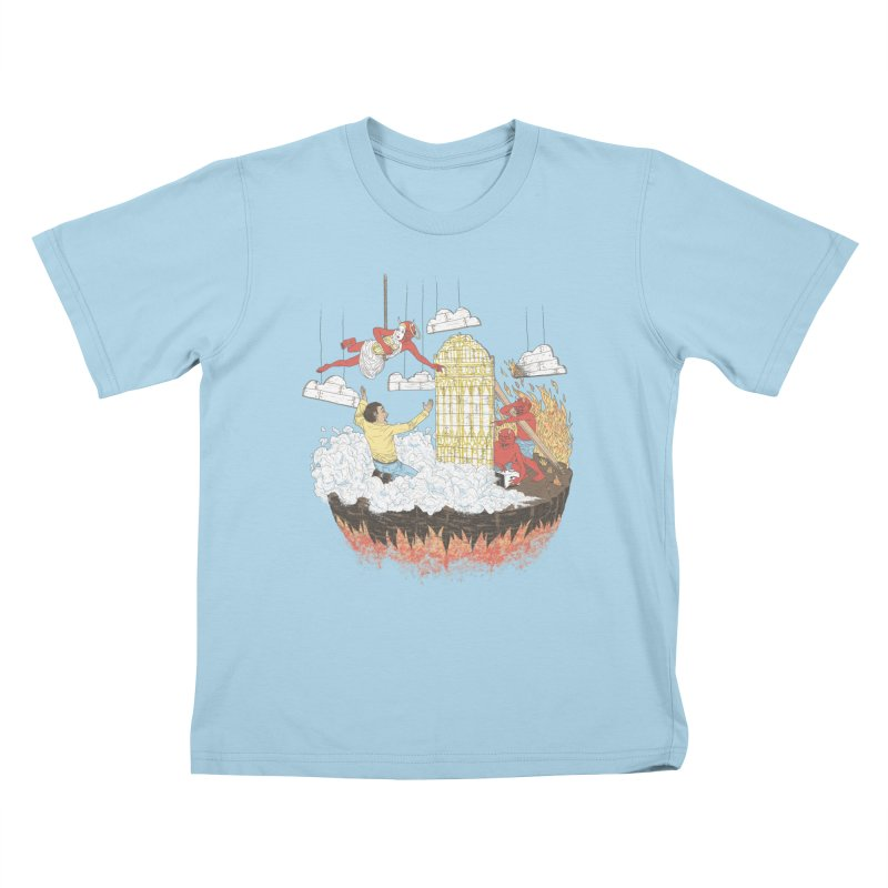 Devil's in the Details Kids T-Shirt by Made With Awesome
