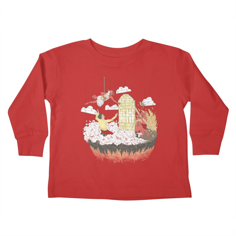 Devil's in the Details Kids Toddler Longsleeve T-Shirt by Made With Awesome