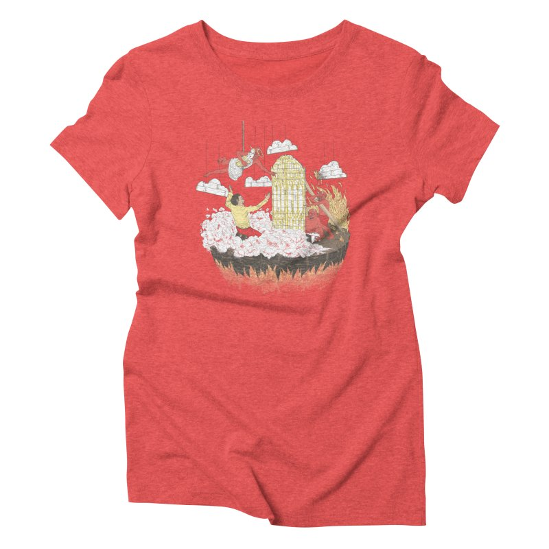 Devil's in the Details Women's Triblend T-Shirt by Made With Awesome