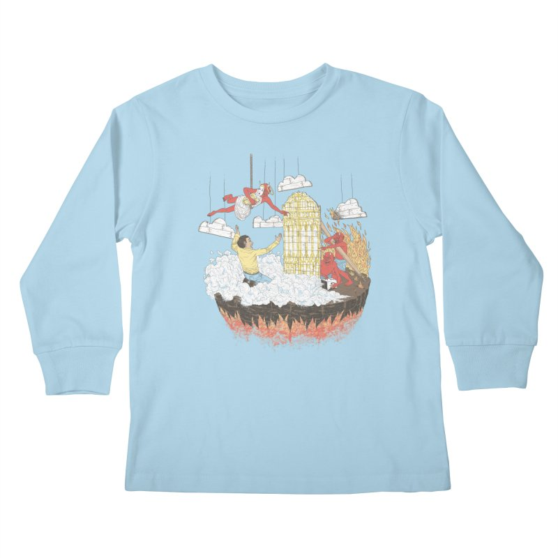 Devil's in the Details Kids Longsleeve T-Shirt by Made With Awesome