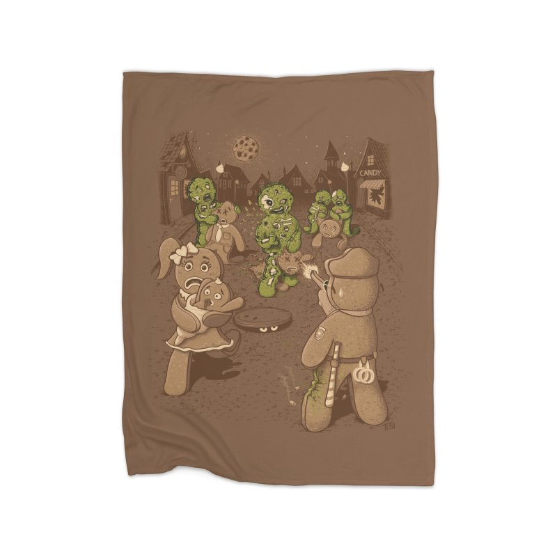 The Walking Bread Home Blanket by Made With Awesome