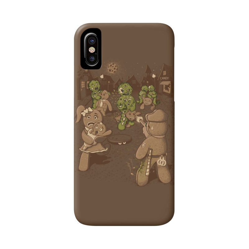 The Walking Bread Accessories Phone Case by Made With Awesome