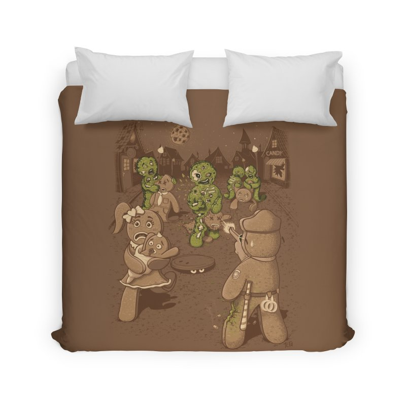The Walking Bread Home Duvet by Made With Awesome