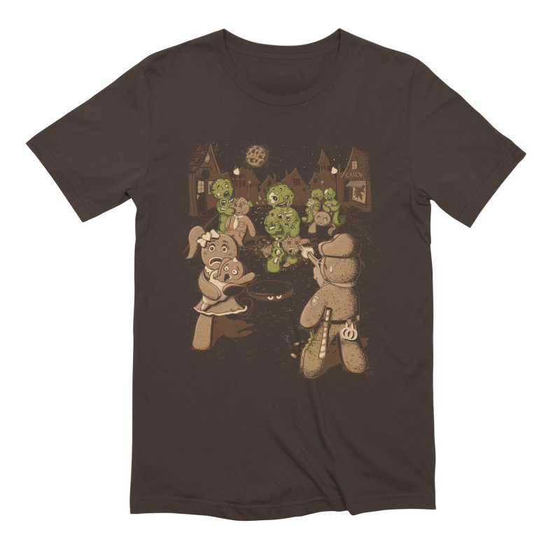 The Walking Bread Men's T-Shirt by Made With Awesome