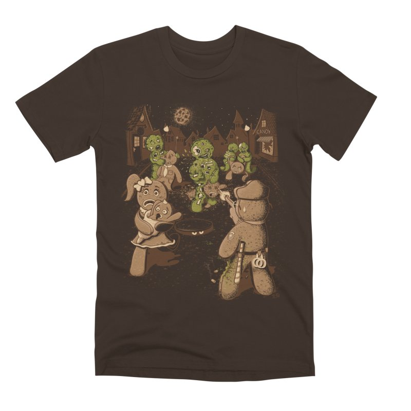 The Walking Bread Men's Premium T-Shirt by Made With Awesome
