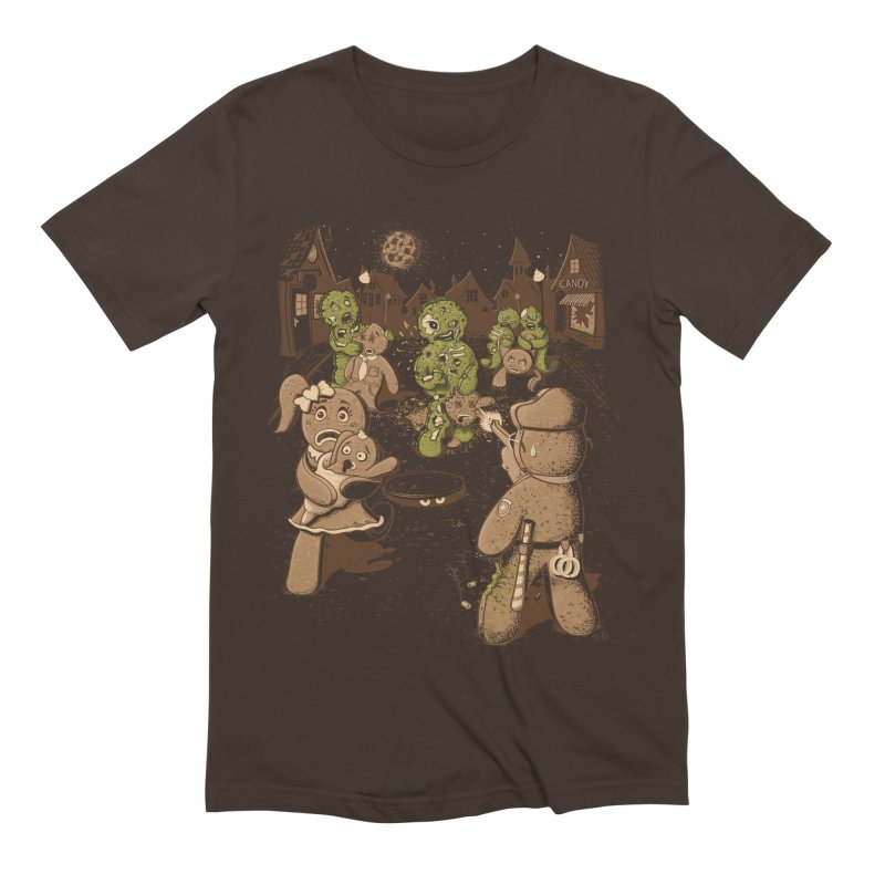 The Walking Bread Men's Extra Soft T-Shirt by Made With Awesome