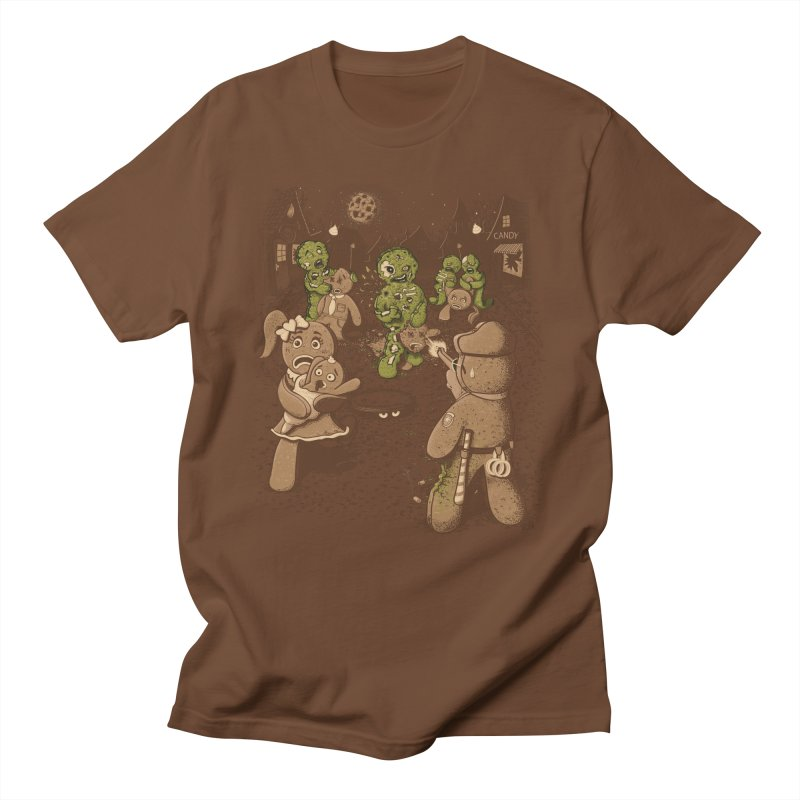The Walking Bread Men's Regular T-Shirt by Made With Awesome