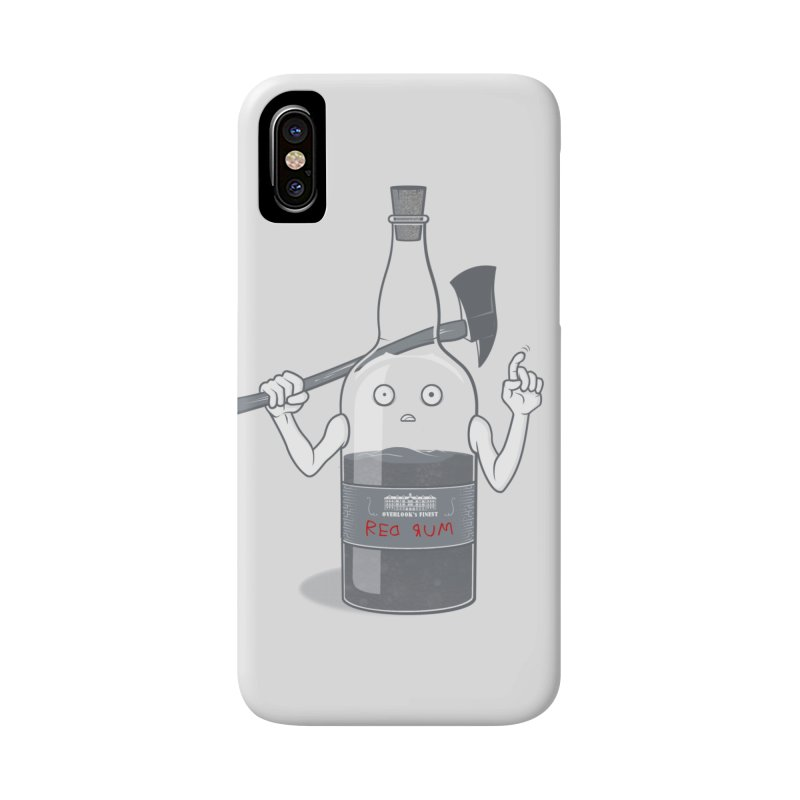 Red Rum Accessories Phone Case by Made With Awesome