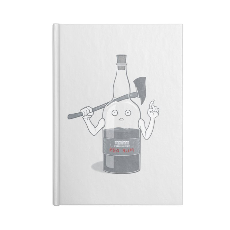 Red Rum Accessories Notebook by Made With Awesome