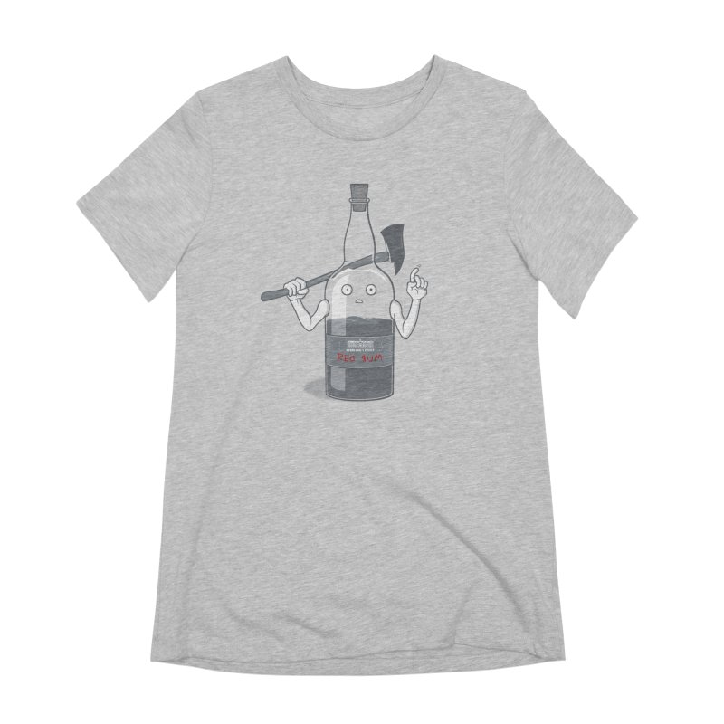 Red Rum Women's Extra Soft T-Shirt by Made With Awesome