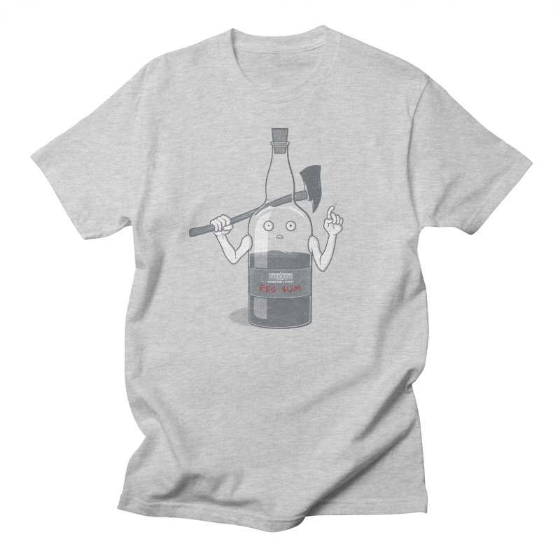 Red Rum Men's Regular T-Shirt by Made With Awesome