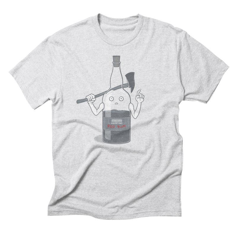 Red Rum Men's Triblend T-Shirt by Made With Awesome