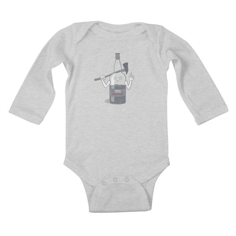 Red Rum Kids Baby Longsleeve Bodysuit by Made With Awesome