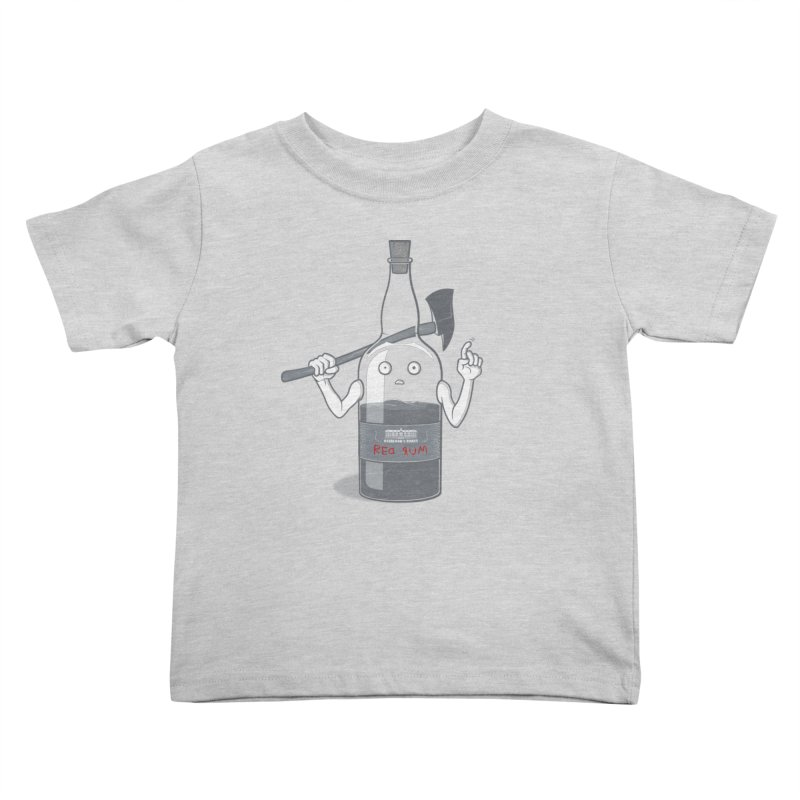 Red Rum Kids Toddler T-Shirt by Made With Awesome