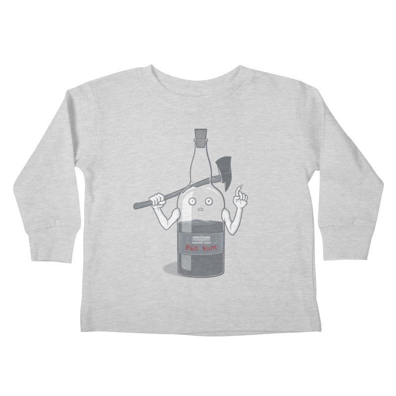 Red Rum Kids Toddler Longsleeve T-Shirt by Made With Awesome