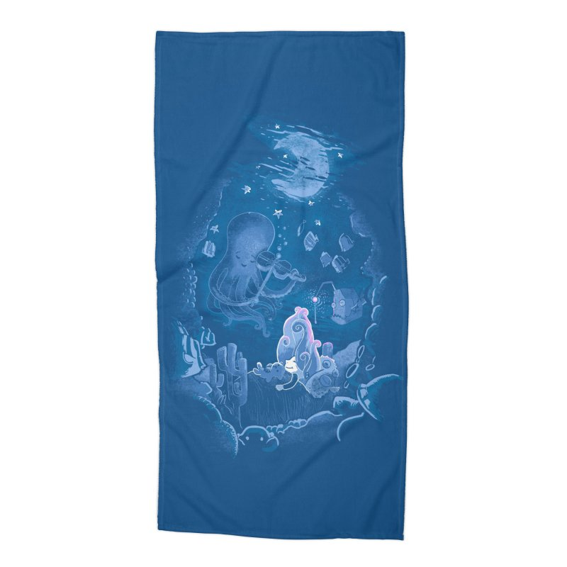 Sleeping With The Fishes Accessories Beach Towel by Made With Awesome