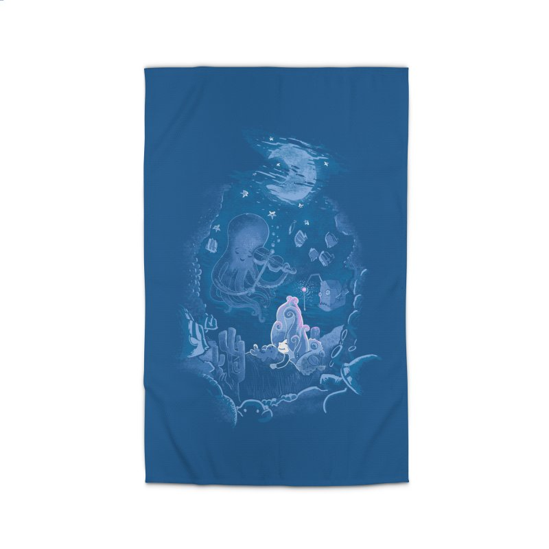 Sleeping With The Fishes Home Rug by Made With Awesome
