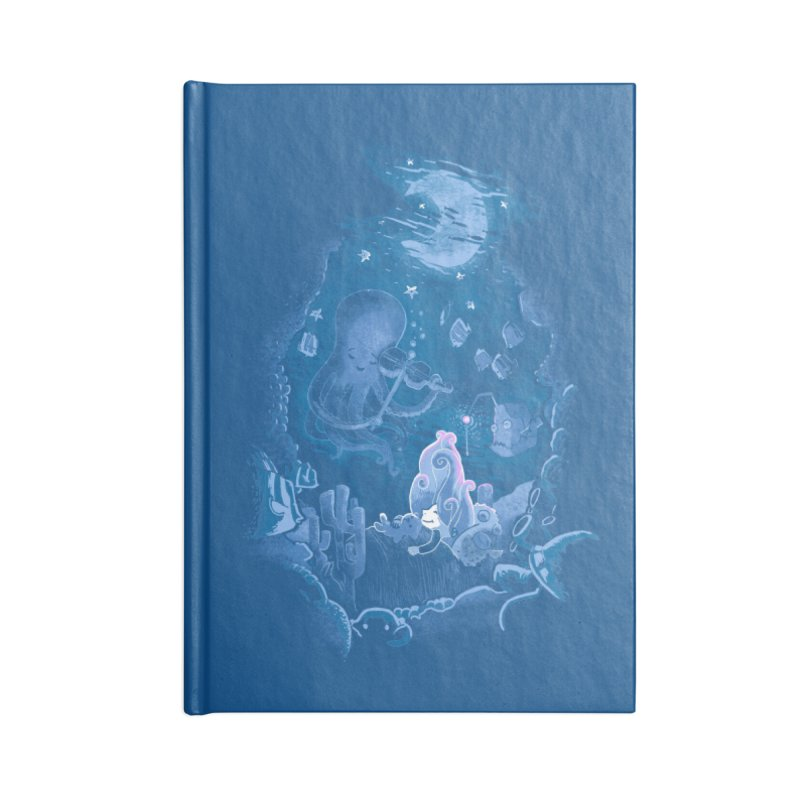 Sleeping With The Fishes Accessories Notebook by Made With Awesome