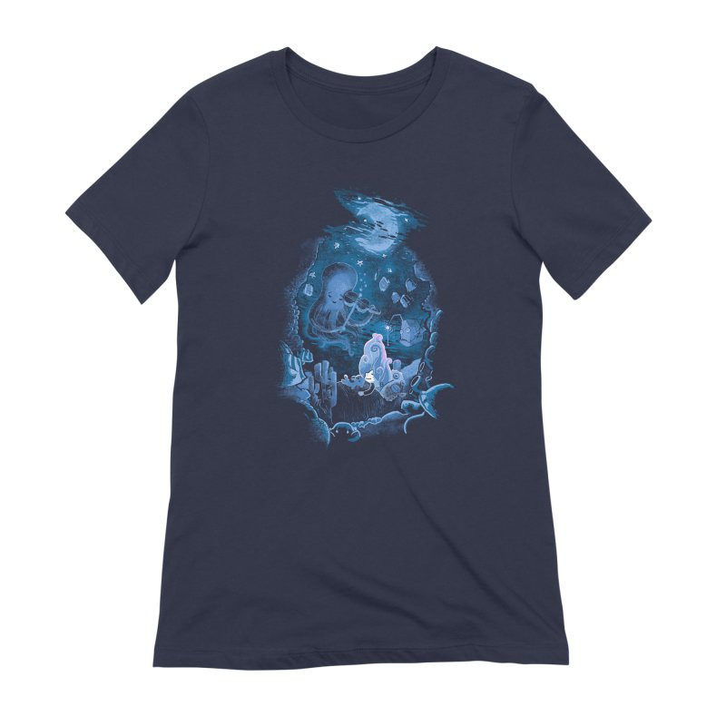 Sleeping With The Fishes Women's Extra Soft T-Shirt by Made With Awesome
