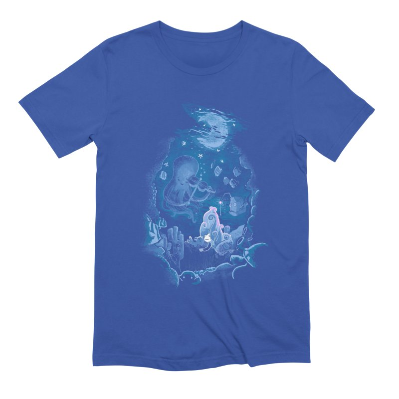 Sleeping With The Fishes Men's Extra Soft T-Shirt by Made With Awesome