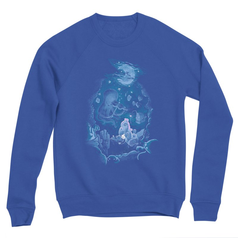 Sleeping With The Fishes Men's Sponge Fleece Sweatshirt by Made With Awesome