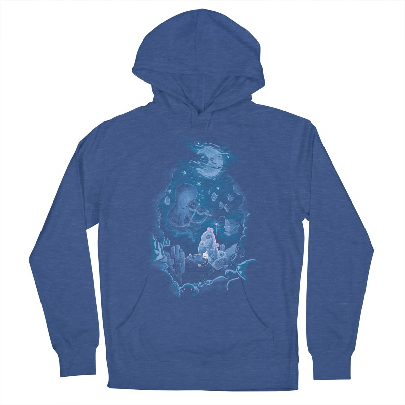Sleeping With The Fishes Women's French Terry Pullover Hoody by Made With Awesome