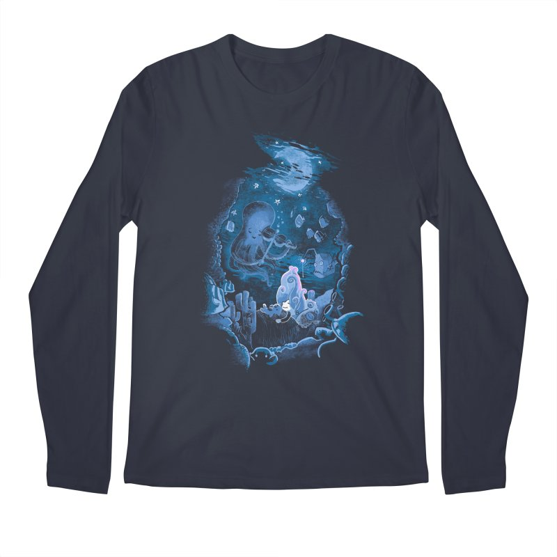 Sleeping With The Fishes Men's Regular Longsleeve T-Shirt by Made With Awesome