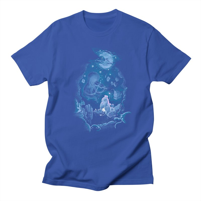 Sleeping With The Fishes Women's Regular Unisex T-Shirt by Made With Awesome