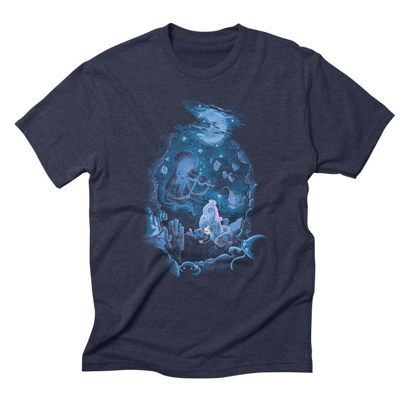 Sleeping With The Fishes Men's Triblend T-Shirt by Made With Awesome