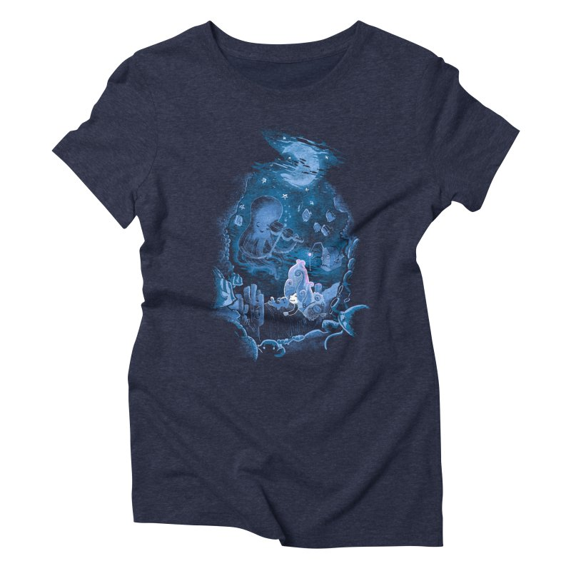 Sleeping With The Fishes Women's Triblend T-Shirt by Made With Awesome