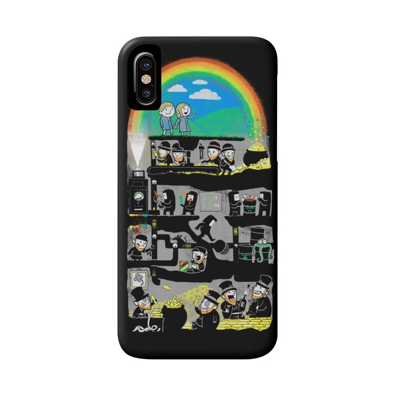 End of the Rainbow Accessories Phone Case by Made With Awesome