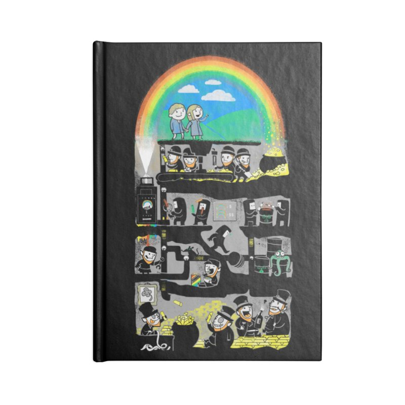 End of the Rainbow Accessories Notebook by Made With Awesome
